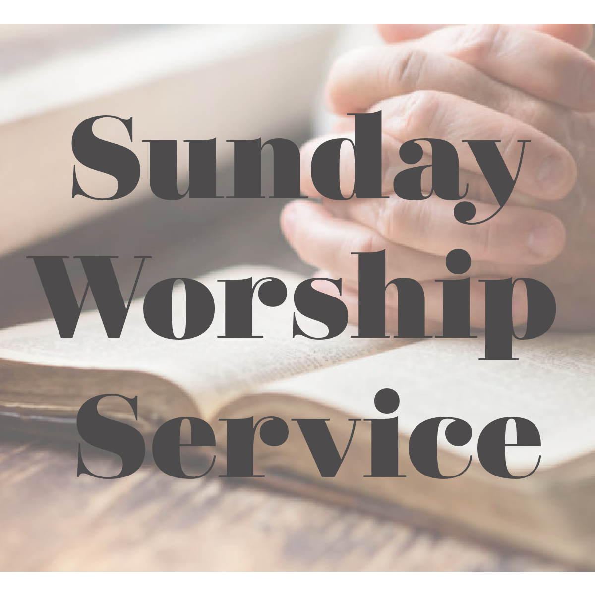 Easter- Worship Service