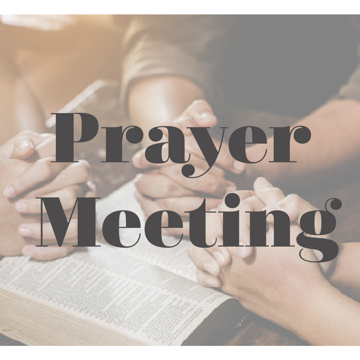 Prayer Meeting- Midweek Service